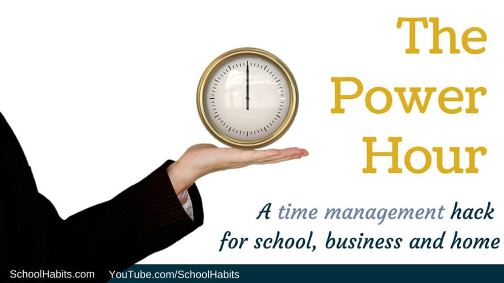 time management hack Power Hour (1)