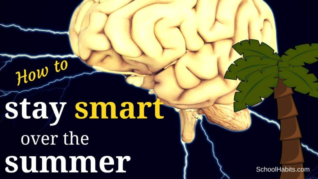 how to stay smart over the summer
