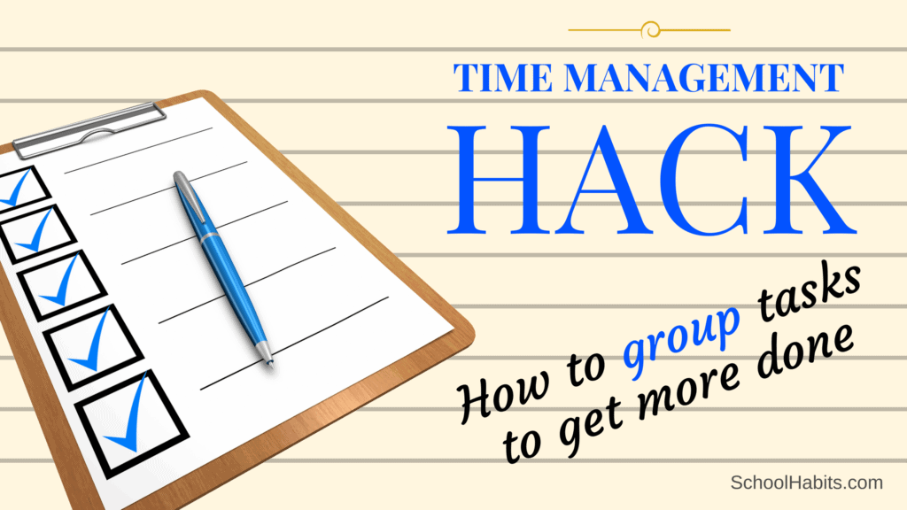 grouping tasks time management