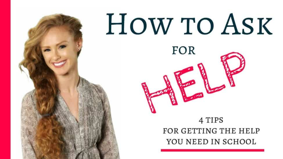 how to ask for help in school