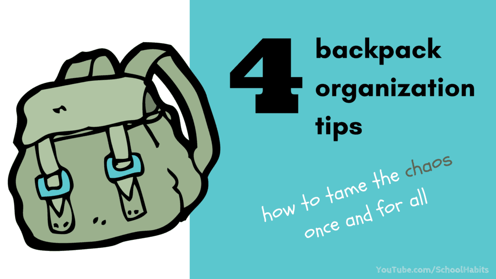 4 backpack organization tips