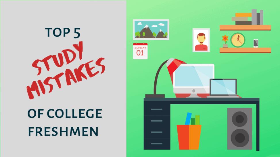 common study mistakes