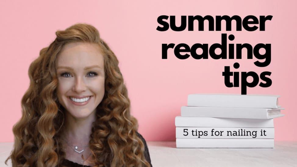 5 Summer reading tips