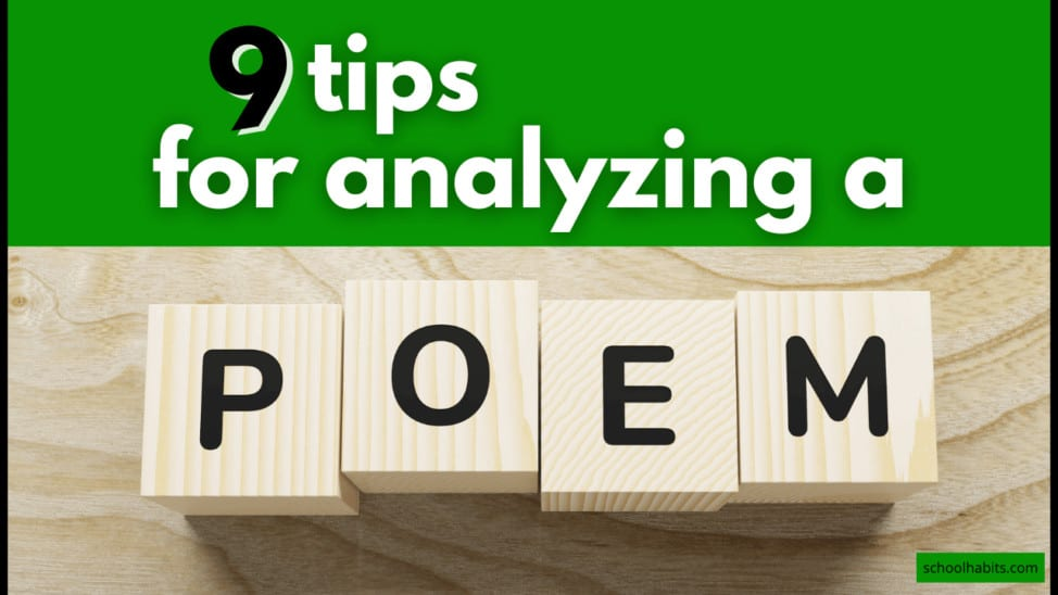 tips for analyzing poetry