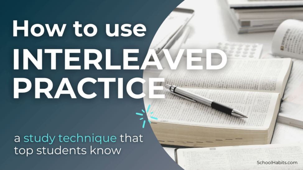 How to use interleaved practice to study
