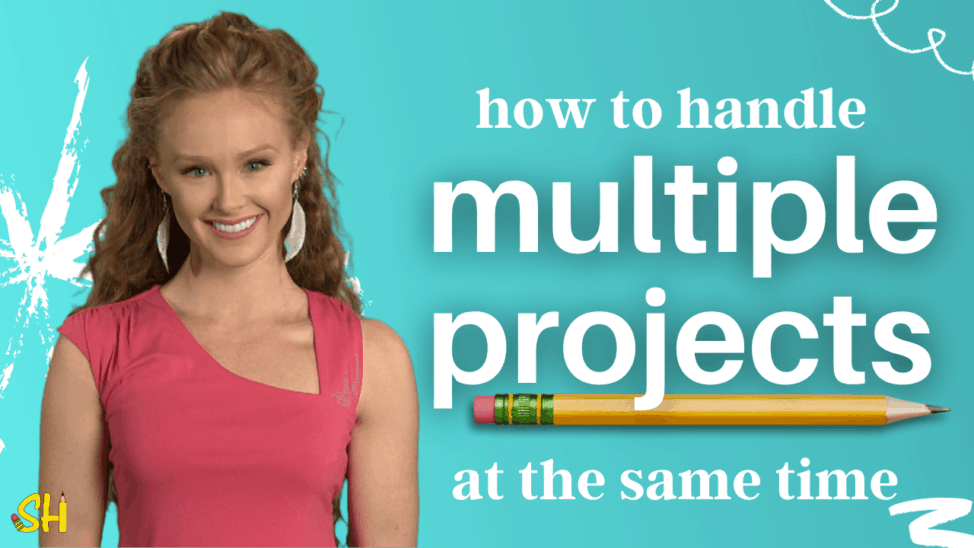 how to handle multiple projects at the same time