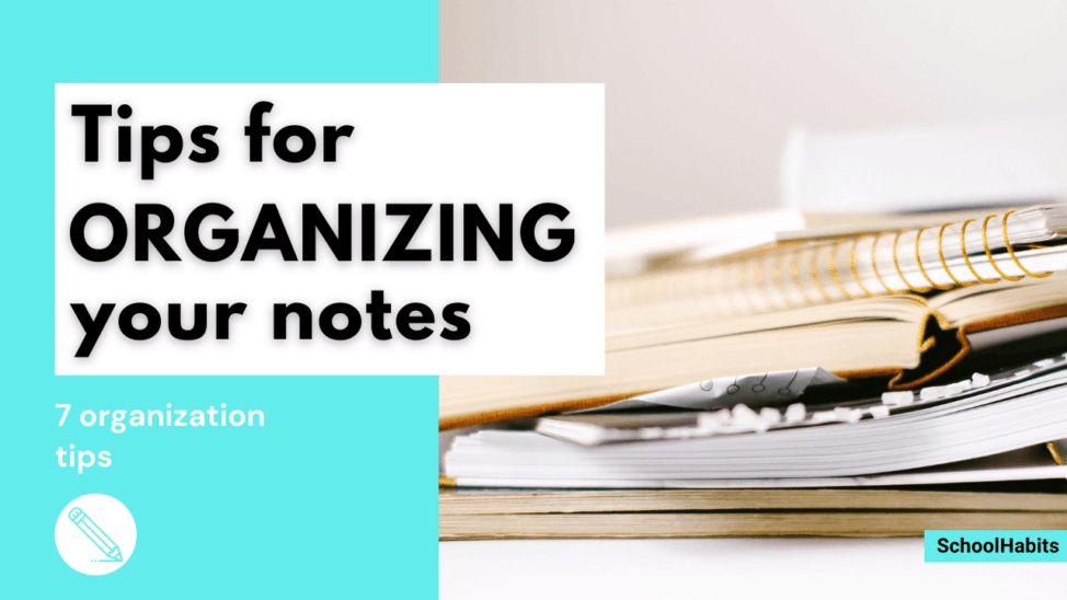 note organization ideas