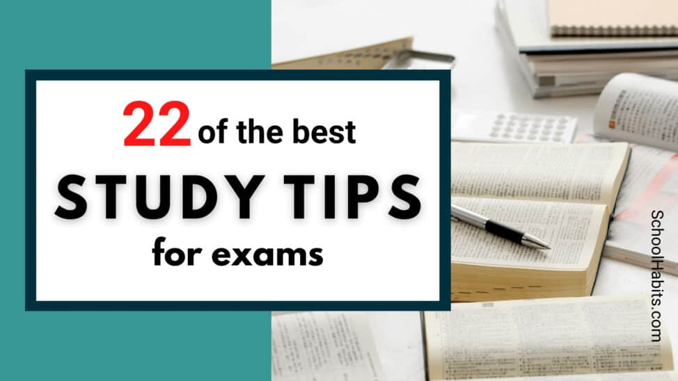 best study tips for exams