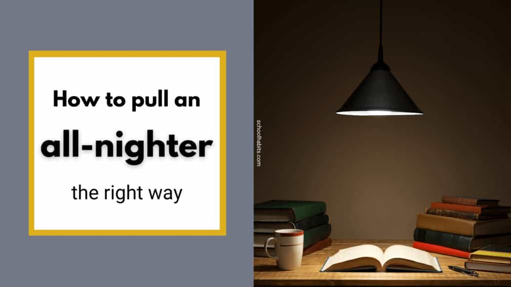 how to pull an all-nighter